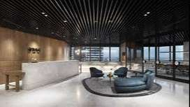 6000 sq.ft. Fully Furnished Office Space for Rent