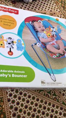 Bouncer with music and vibration