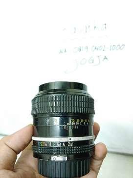 Nikon 105mm F2.5 AI manual Lensa