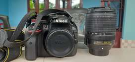 Nikon D5300 body with 18-140mm lens + 16GB card + Bag