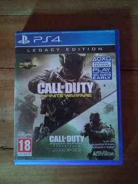 Kaset BD PS4 Call Of Duty Infinite Warfare