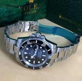 Jam Tangan Rolex Submariner otomatis All Stainless free box paperbag