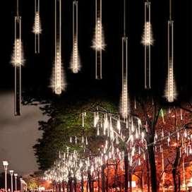 Lampu Hias Gantung Model Meteor Rain