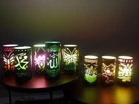 Lampu hias banyak motif