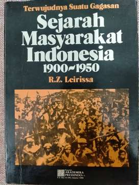 Buku Sejarah Masyarakat Indonesia 1900 Sampai 1950