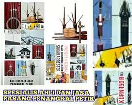 agen toko install ahli jasa pemasangan alat penangkal petir Bandung
