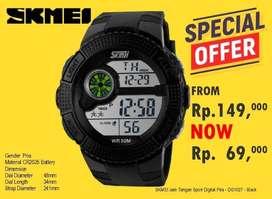 SKMEI Jam Tangan Sport Digital Pria - DG1027 - Black