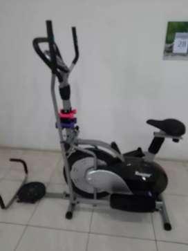 Lima fungsi sepeda fitnes orbitrac