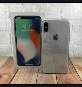 Iphone X 64gb putih