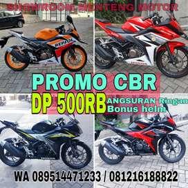 DP PROMO 500RB HONDA CBR 150R FACELIFT BANYAK PILIHAN