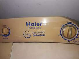 Haier washing machine with spiner