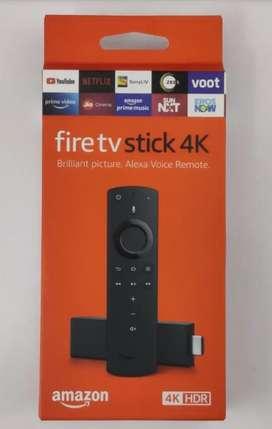 Fire TV Stick 4K with Alexa Voice Remote MRP 5999