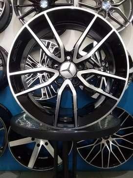 Jual velg import murah AMG e63 ring18 inch bisa buat mobil mercy