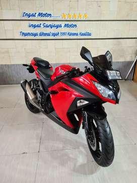 Ninja 250 R FI 2017 Sanjaya Motor - Sri - Cash kredit se jabar