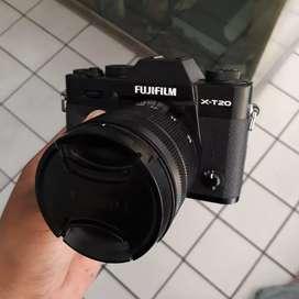 Fujifilm Fuji X-T20 XT20 X T20 XT 20 lensa 16-50mm OIS II