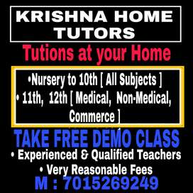 KRISHNA HOME TUTORS