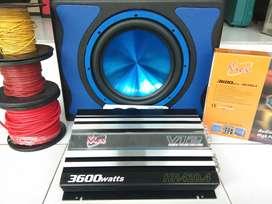 Paketan kick 3600 wats super HOREQ DEP (UDIN AUDIO)