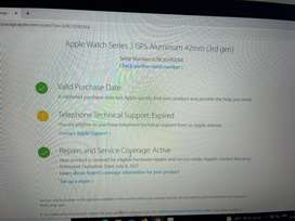 Apple watch series 3- 3rd gen