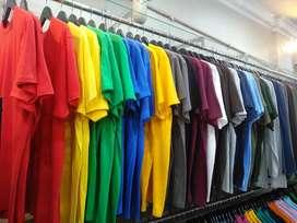 Jual Kaos Polos Cotton Combed Kualitas Distro.
