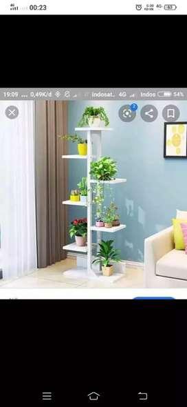 Rak pot bunga minimalis