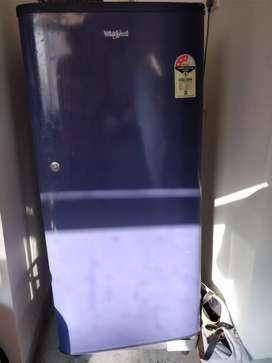 Whirlpool fridge 205 door oem blue 190 L