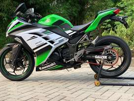CASH CREDIT jual motor moge kawasaki ninja 250 fi SE ABS 2015 modif