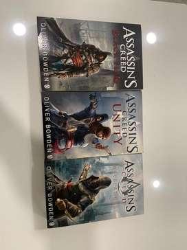 Assassin's  creed 3 books set
