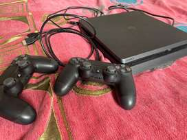SONY PS4 Slim 1TB With dual Wireless Controller