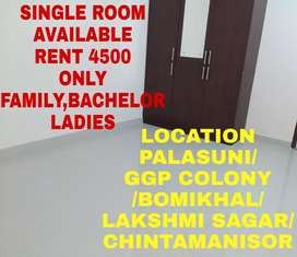 Single Room AvailableNear Rasulgarh,Palasuni,Bomikhal OR Chintamanisor