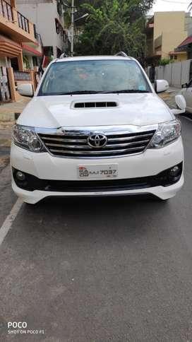Toyota Fortuner 3.0 4x2 MT, 2014, Diesel