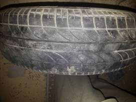 1 mehran car 2nd hand tyre is available in good condition.