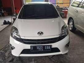 Toyota agya G AT 2014 Tdp 7 jt minim