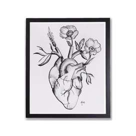 Drawing with frame