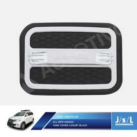 Cover Tank Luxury Black Chrome All New, Grand Avanza Include Pasang