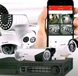 paket kamera cctv kumplit alat pengintai