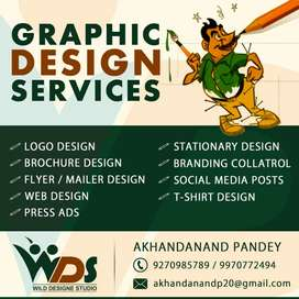 All type of Graphic Designer solutions available in low cost