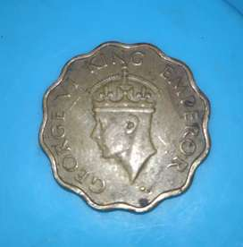 Old coins collection 1942