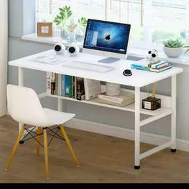 Deskop table,laptop table,study,office table with book shelves