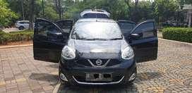 Nissan march 2015 XS 1.2 L auto km 30rb rec beres tgn 1 hitam