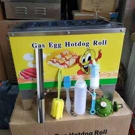 Mesin sosis telur gas paket lengkap