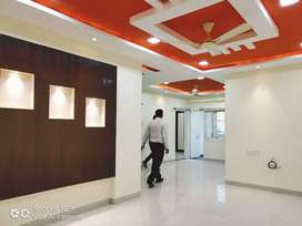 Secure Covered campus 3bhk flat available on rent only 4 families