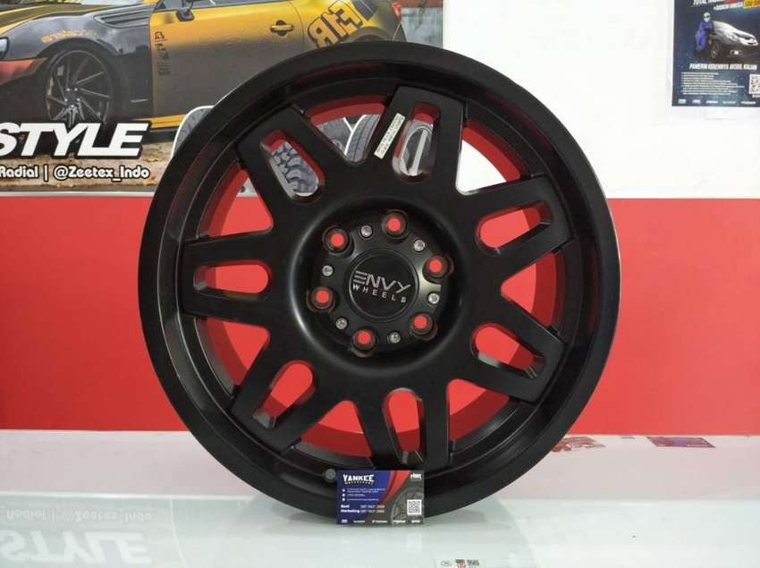 Velg Mobil Dmax, Panther New, Hilux Double dll Ring 18 HSR DOMPU 0