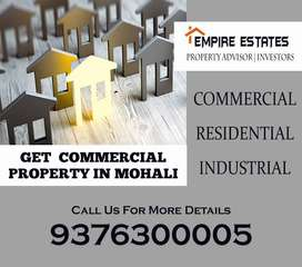Commercial Builtup Booth Available For SAle On Airport Road Mohali