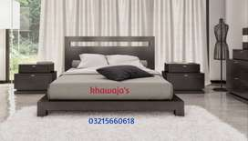 We are manufacturer Bed with side table dressing