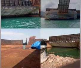 Jual tongkang 270 feet rebuild 2018 MURAH