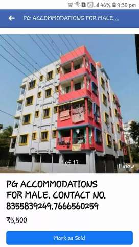Pg available in kestopur with all facilities