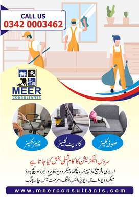 Sofa Carpet Cleaning & House Cleaning/Plumber Electrician Services