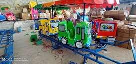 Jual Odong odong Robocar kereta panggung fiber murah DCN