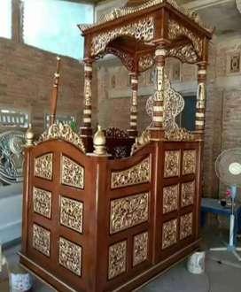 mimbar masjid kubah murah jati