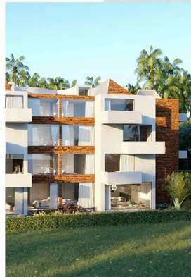 Stylish 2bhk apartment in reis magos close to Panjim with rentback